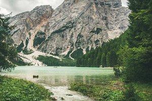 Lago di Braies or Pragser Wildsee