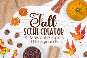 Fall/Autumn Scene Creator