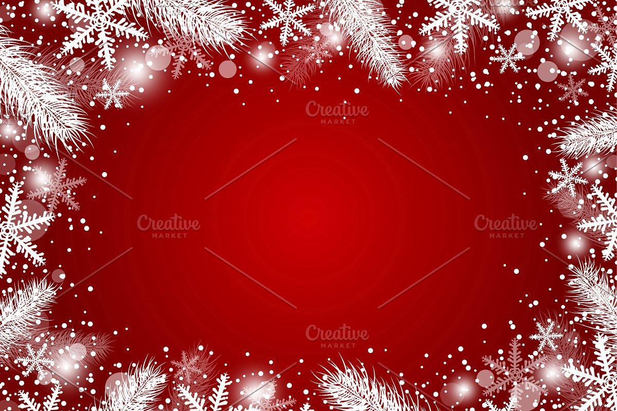 Beautiful Christmas Background Design.Vector Christmas Background Design