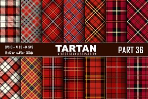 Seamless  Tartan Pattern Part - 36