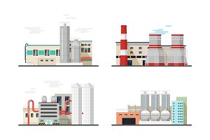 Thermal power station,chemical factory or plants