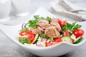 A tuna salad