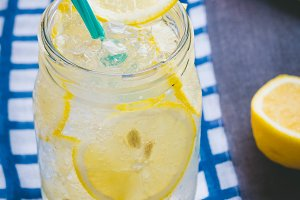 lemonade beverage sweet water