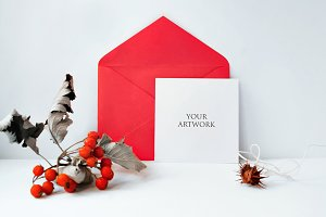 Square Greetingcard Front View 10039