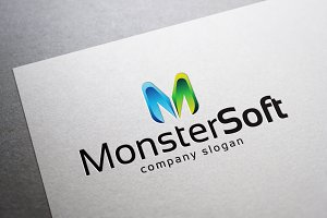 Monster Soft Logo