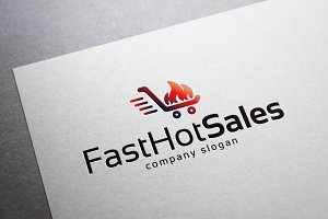 Hot Sales & Fast Hot Sales Logo