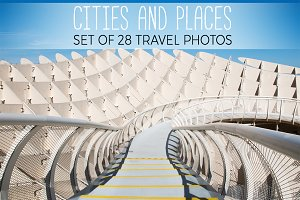 Travel photos. Cities and places