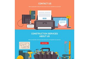 Construction service tools and office accessories
