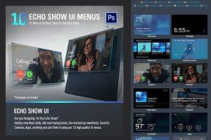 Echo Show UI Menus