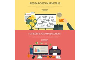 Management and marketing research items