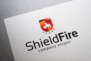 Shield Fire Logo