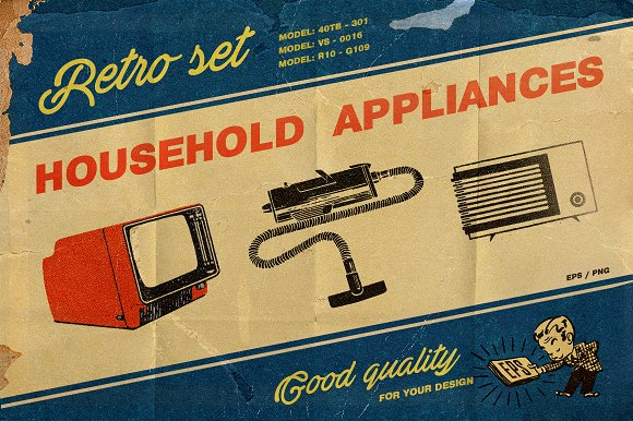 Household Appliances-Graphicriver中文最全的素材分享平台