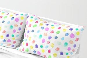 Watercolor confetti