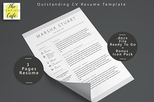 Elegant MS Word Resume Template