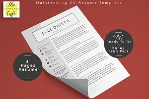 Simple Elegant Word Resume Template