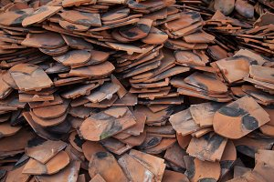 fragments of roof