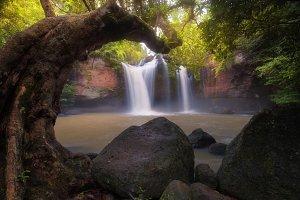 Haew Suwat waterfall