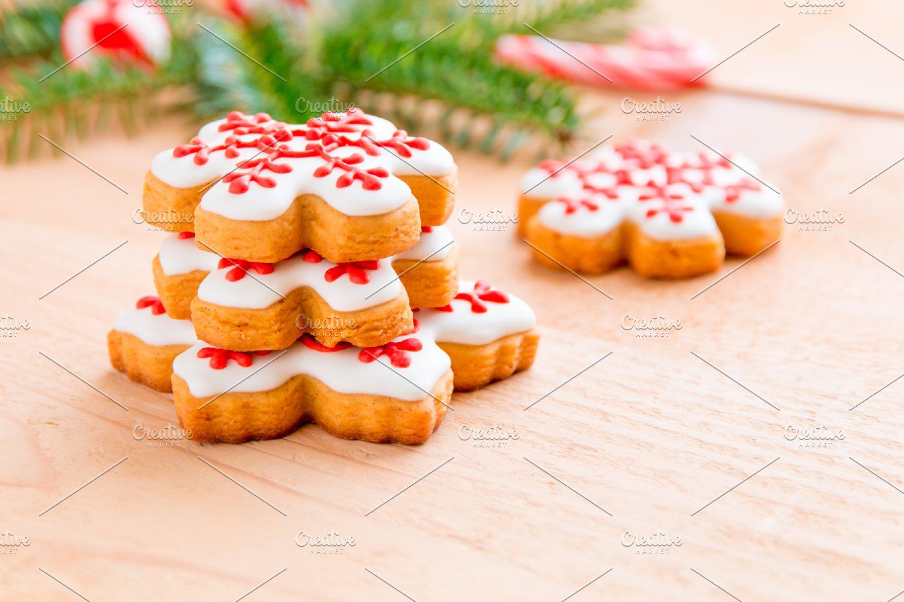 Homemade Snowflake Christmas Cookies