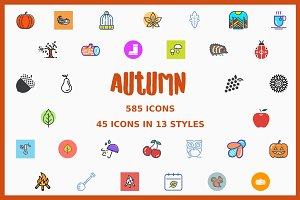 Autumn Icon Bundle
