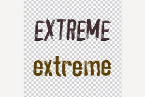 Extreme Lettering Image