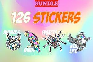 Wild Life Stickers
