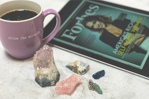 Crystals, Black Coffee, Business
