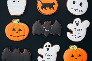 Gingerbreads for Halloween