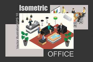 Isometric Office set