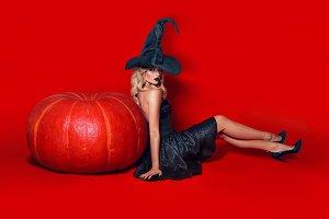 Sexy witch.