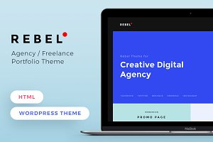 REBEL Wordpress Theme | HTML
