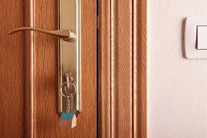 Entrance door detail front