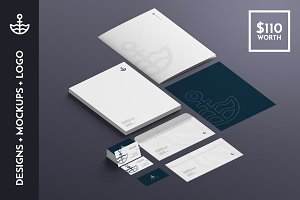 North Stationery Templates & Mockups