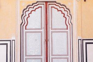 Old Doors of the Hawa Mahal palace