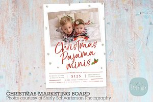 IC046 Christmas Marketing Board