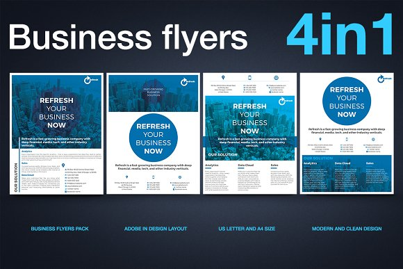 Multipurpose Business Flyer-Graphicriver中文最全的素材分享平台