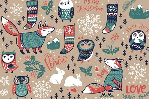 Christmas wishes patterns