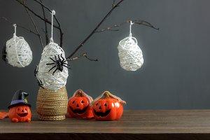 Happy Halloween decoration.