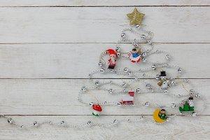 Merry Christmas decoration.