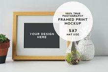 Artist Series Framed Print Mockup #4