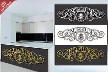 Belgium White, Black & Gold Label