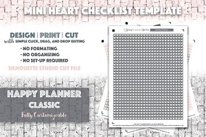 HPC Mini Heart Checklist Template