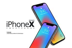 iPhoneX Mockups