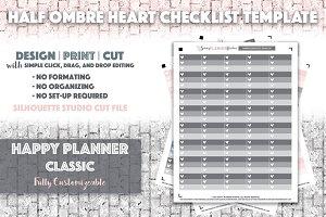 HPC Half Ombre Checklist