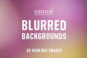 Blurred Backgrounds from Nature -50%