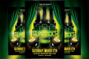 St. Patricks Day Celebration 1 Flyer