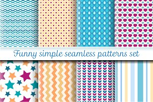 Funny simple patterns set