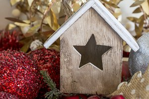 Little star-windowed house