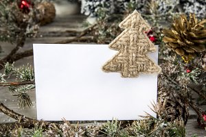 Paper in Christmas decor