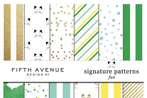 Signature Patterns - Fun Collection