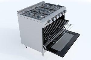 90cm Gas Range Oven